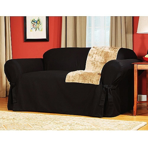 Best 25 Black Loveseat Ideas On Pinterest Teal House Furniture clearly regarding Walmart Slipcovers for Sofas (Image 1 of 20)