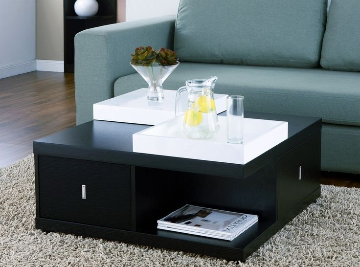 Best 25 Black Square Coffee Table Ideas On Pinterest Square good inside Square Black Coffee Tables (Image 4 of 20)