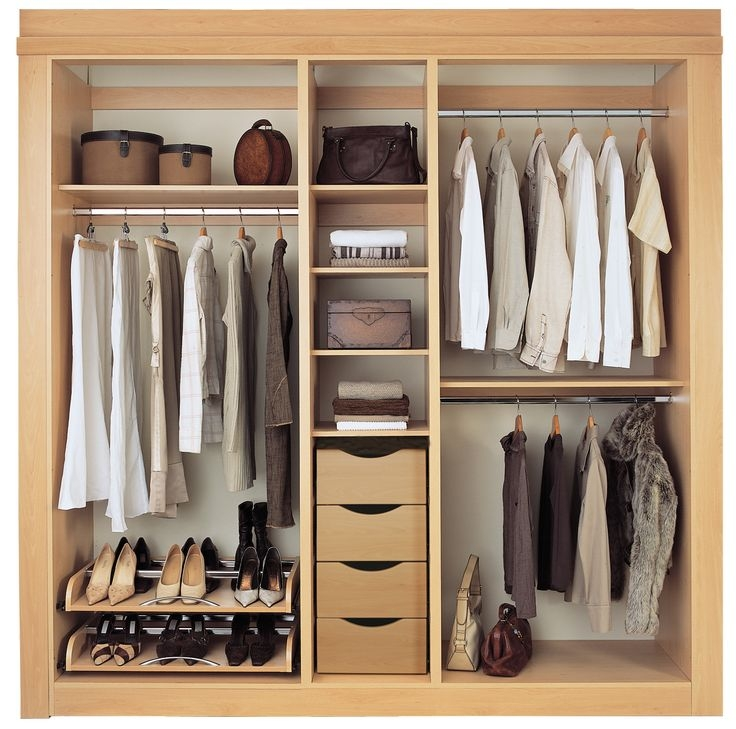 Best 25 Built In Wardrobe Ideas On Pinterest Bedroom Cupboards certainly within Single Wardrobe With Drawers and Shelves (Image 13 of 20)