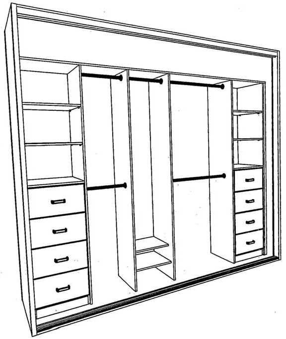Best 25 Built In Wardrobe Ideas On Pinterest Bedroom Cupboards very well with regard to Drawers And Shelves For Wardrobes (Image 23 of 30)