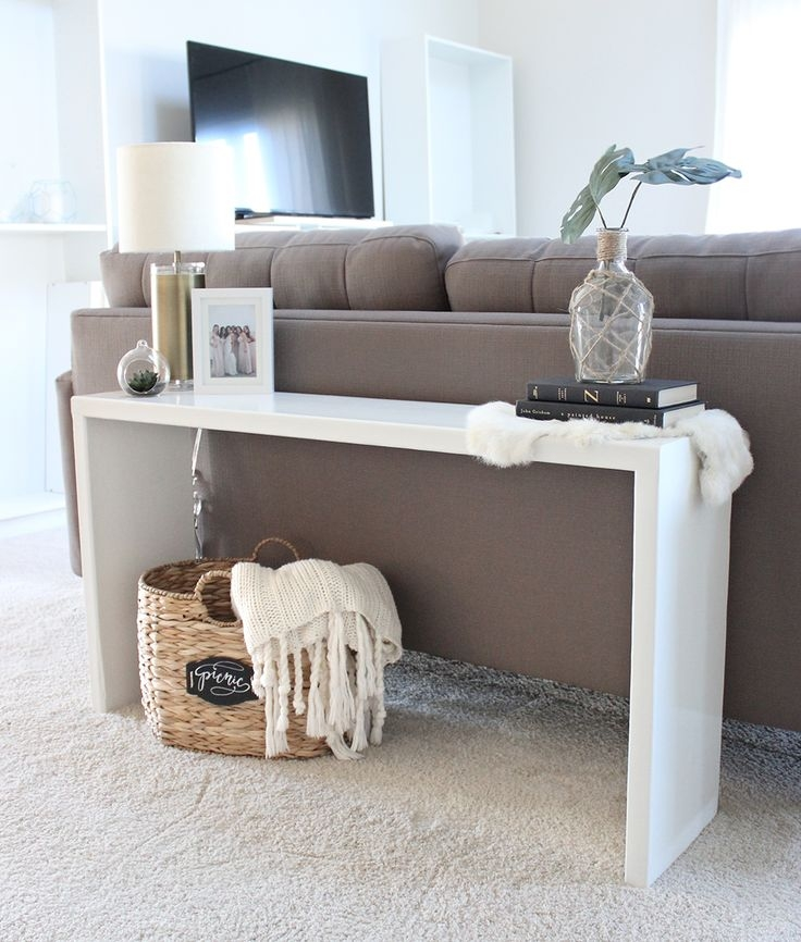 Best 25 Console Table Decor Ideas On Pinterest Foyer Table Perfectly Throughout Sofas With Consoles (View 6 of 20)