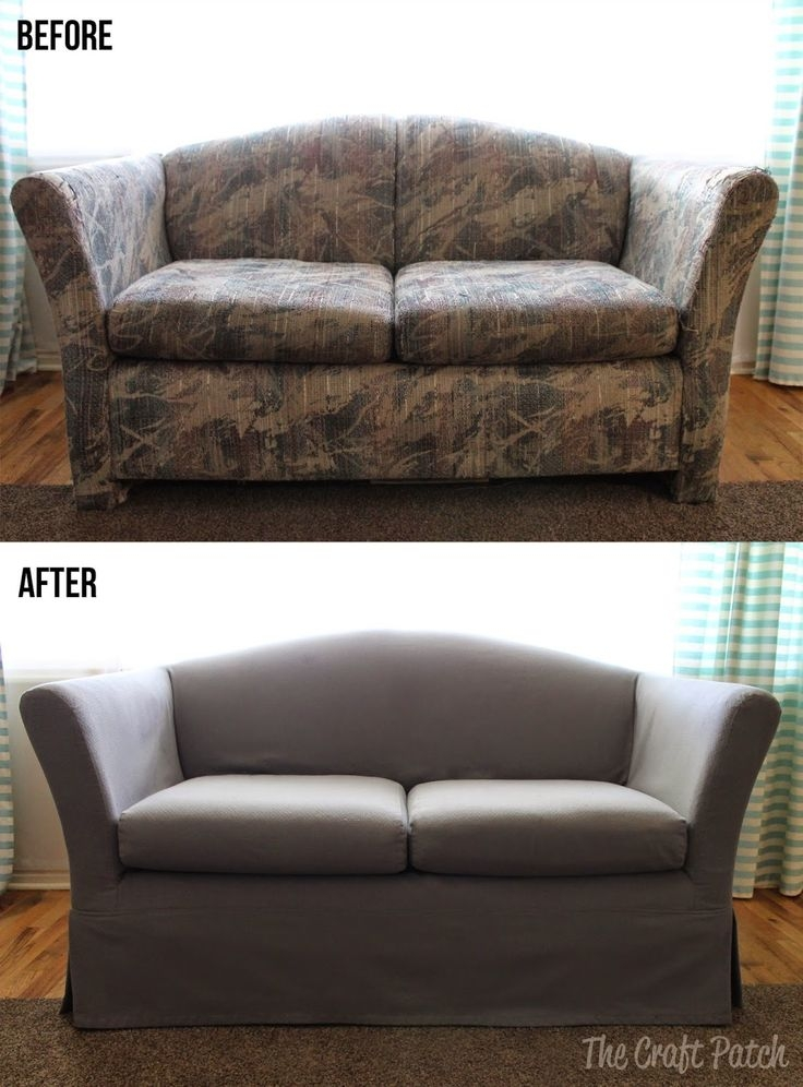 Best 25 Couch Covers Ideas On Pinterest Couch Cushion Covers Very Well With Regard To Sofa Settee Covers (View 3 of 20)