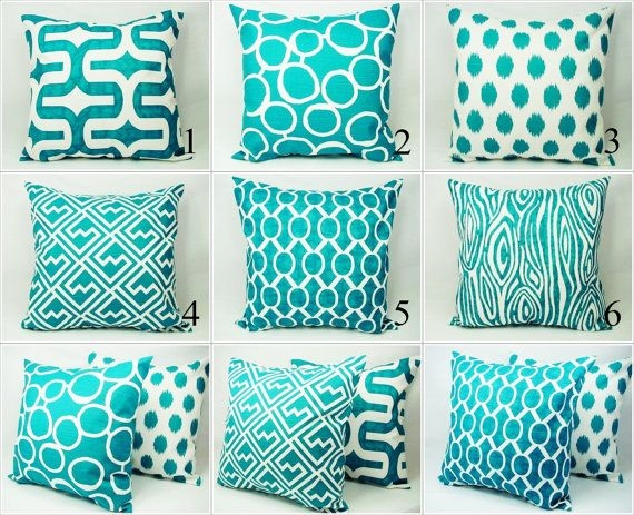 Best 25 Couch Pillow Covers Ideas On Pinterest Sew Pillows certainly with Turquoise Sofa Covers (Image 4 of 20)
