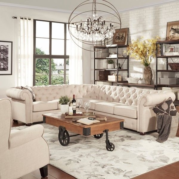 Best 25 Cream Sofa Ideas On Pinterest Cream Couch Living Room nicely with Cream Colored Sofas (Image 6 of 20)