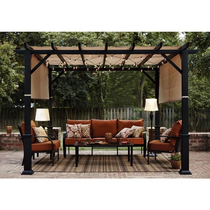 Best 25 Deck Canopy Ideas On Pinterest Shade For Patio Porch perfectly with regard to Outdoor Sofas With Canopy (Image 4 of 20)