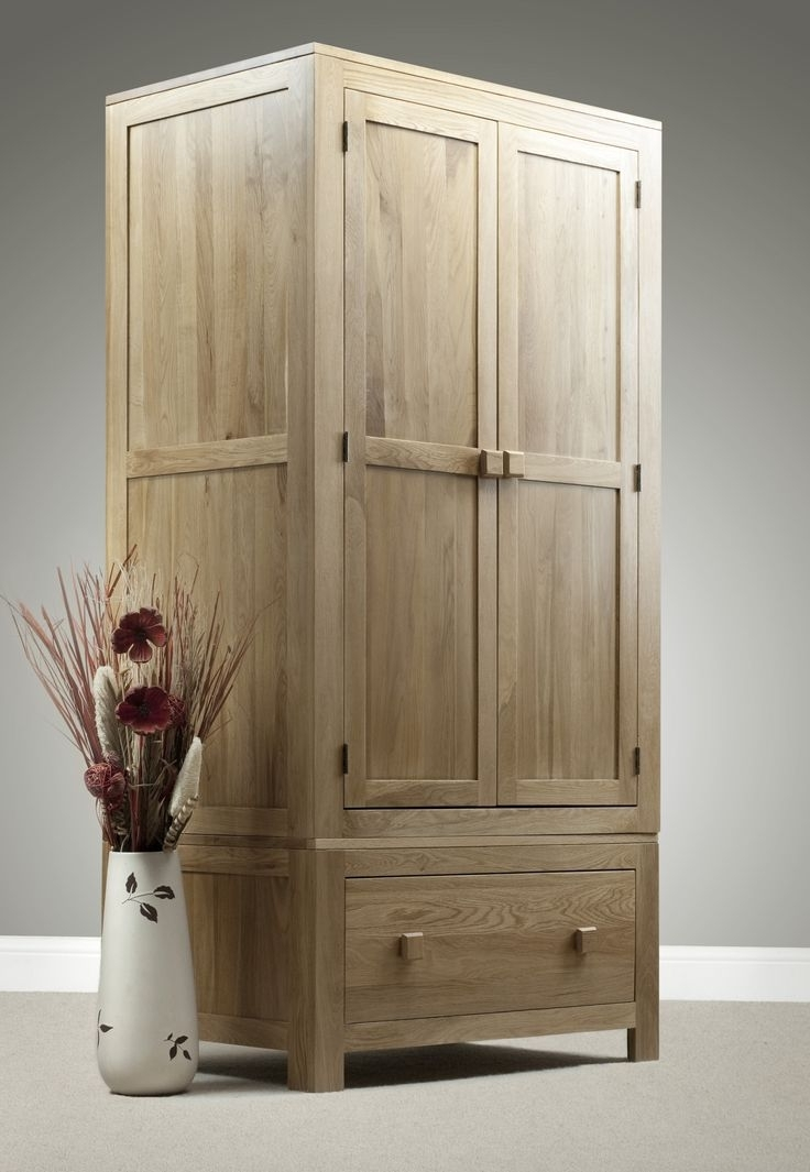 Best 25 Double Wardrobe Ideas Only On Pinterest Trench Coats most certainly in Double Rail Oak Wardrobes (Image 19 of 30)
