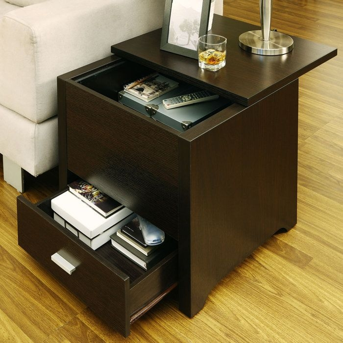 Best 25 End Tables With Storage Ideas On Pinterest Side Table certainly in Sofa Side Tables With Storages (Image 8 of 20)