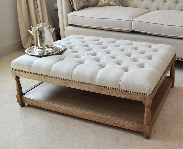 Featured Photo of Fabric Coffee Tables