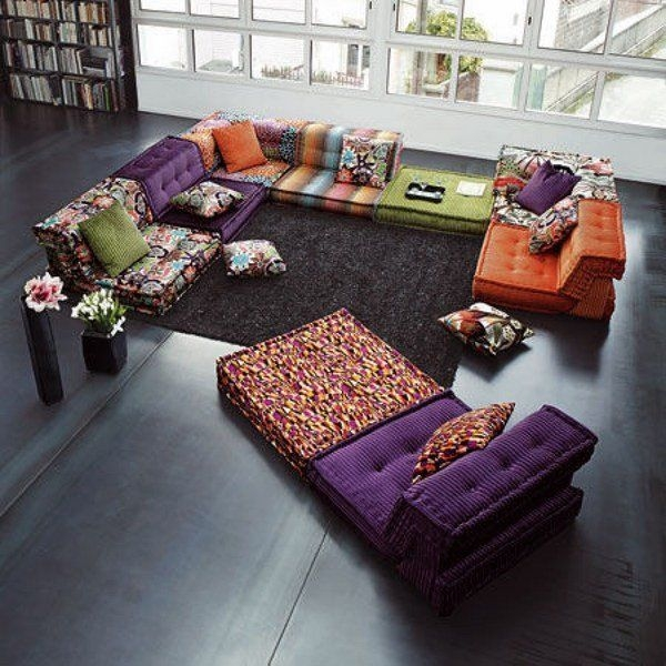 Best 25 Floor Couch Ideas On Pinterest Cushions For Couch clearly within Floor Cushion Sofas (Image 6 of 20)