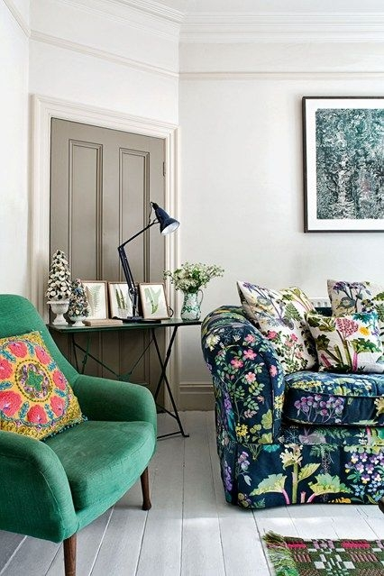 Best 25 Floral Sofa Ideas Only On Pinterest Timorous Beasties nicely regarding Floral Sofas And Chairs (Image 14 of 20)