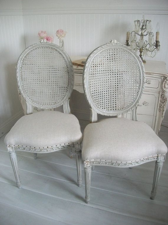 Best 25 French Dining Chairs Ideas Only On Pinterest nicely in White Cane Sofas (Image 6 of 20)