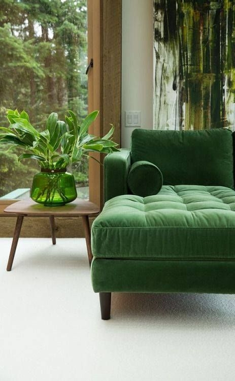 Best 25 Green Leather Sofas Ideas On Pinterest Dining Chairs most certainly within Green Sofa Chairs (Image 4 of 20)