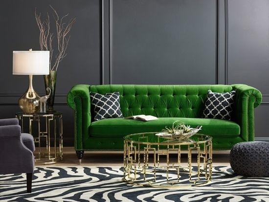 Best 25 Green Sofa Ideas On Pinterest Green Living Room Sofas certainly inside Green Sofa Chairs (Image 5 of 20)