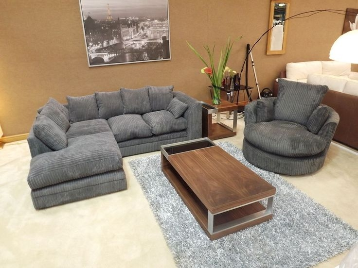 Best 25 Grey Corner Sofa Ideas Only On Pinterest White Corner definitely with regard to Corner Sofa and Swivel Chairs (Image 2 of 20)