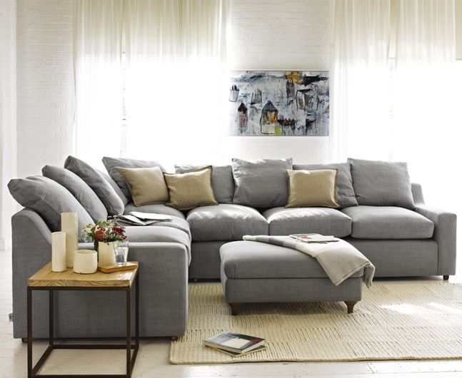 Best 25 Grey Corner Sofa Ideas Only On Pinterest White Corner definitely within Sofa Chairs For Living Room (Image 4 of 20)