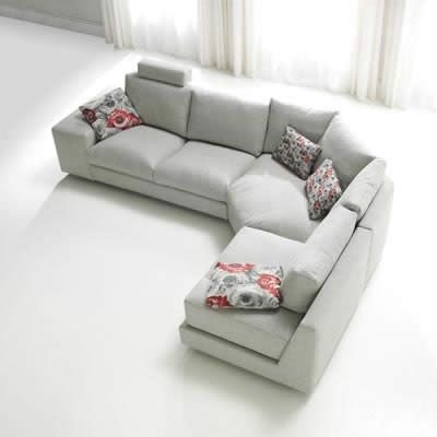 Best 25 Grey Fabric Corner Sofa Ideas Only On Pinterest High well for Fabric Corner Sofa Bed (Image 1 of 20)
