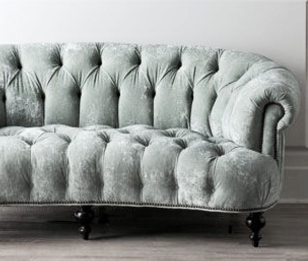 Best 25 Grey Velvet Sofa Ideas On Pinterest Gray Velvet Sofa well inside Affordable Tufted Sofa (Image 5 of 20)