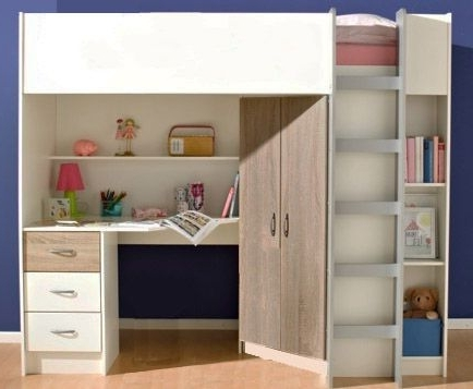Best 25 High Sleeper Cabin Bed Ideas Only On Pinterest Cabin certainly with Double Wardrobe With Drawers and Shelves (Image 26 of 30)