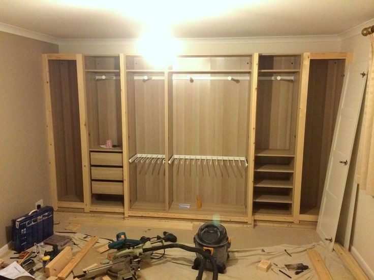 Best 25 Ikea Fitted Wardrobes Ideas On Pinterest Diy Fitted clearly in Dark Wood Wardrobes Ikea (Image 17 of 30)