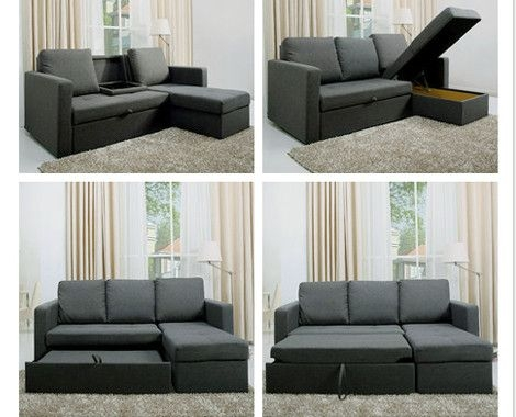 Popular Photo of L Shaped Sofa Bed