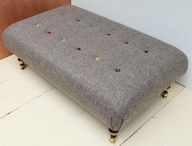 Best 25 Large Footstools Ideas On Pinterest Upholstered certainly in Large Footstools (Image 2 of 20)