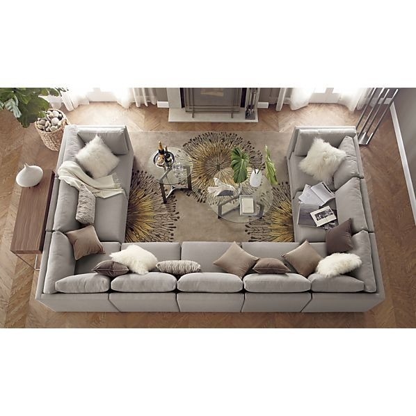 Best 25 Large Sectional Sofa Ideas Only On Pinterest Large most certainly pertaining to Very Large Sofas (Image 5 of 20)