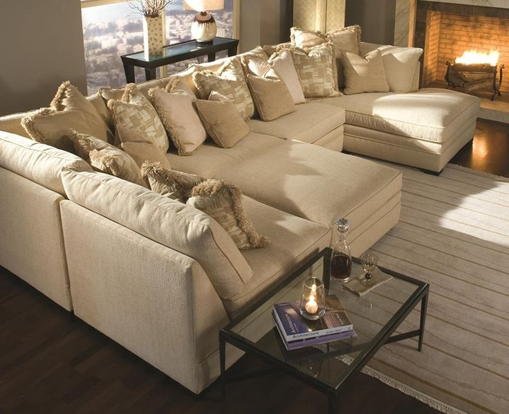 Best 25 Large Sectional Sofa Ideas Only On Pinterest Large Very Well Pertaining To Big Sofas Sectionals (Photo 2 of 20)