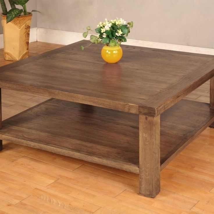 Best 25 Large Square Coffee Table Ideas On Pinterest Large definitely with Square Dark Wood Coffee Table (Image 3 of 20)