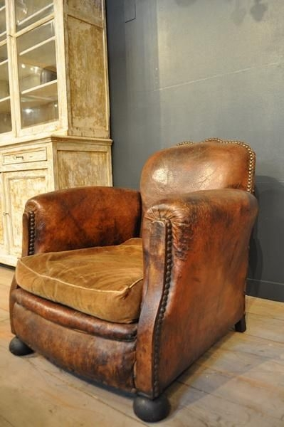 Best 25 Leather Chairs Ideas On Pinterest Leather Furniture well inside Vintage Leather Armchairs (Image 5 of 20)