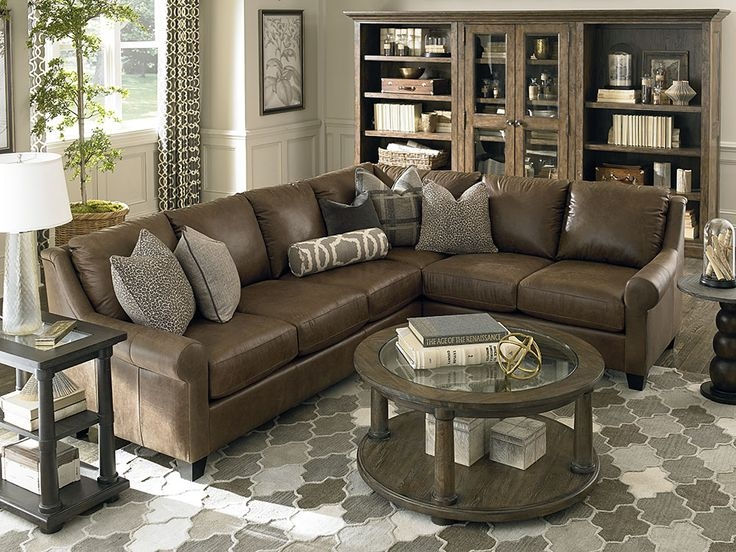 Best 25 Leather Sectionals Ideas Only On Pinterest Leather very well throughout Leather L Shaped Sectional Sofas (Image 3 of 20)