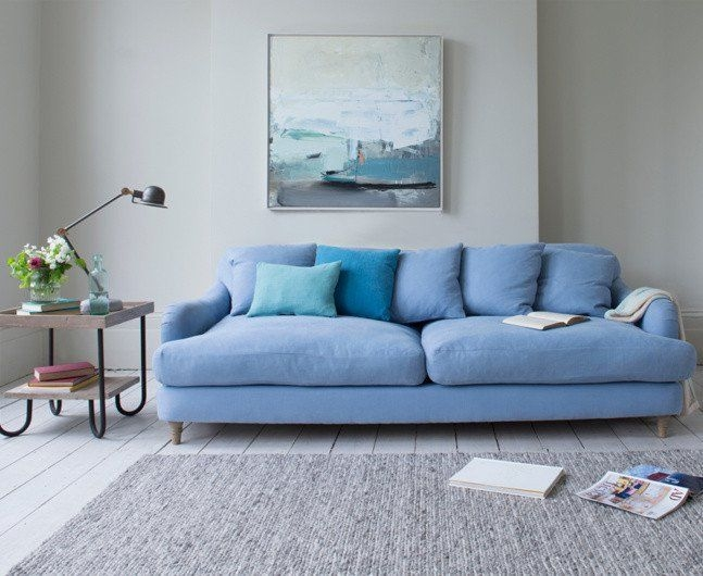 Best 25 Loaf Furniture Ideas On Pinterest Loaf Sofa Comfy most certainly for Blue Sofa Chairs (Image 7 of 20)