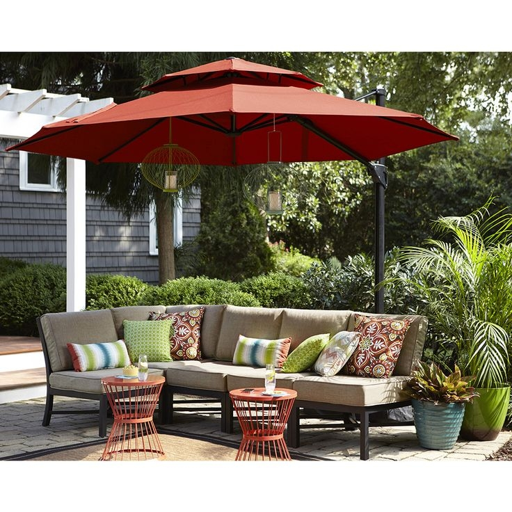 Best 25 Lowes Patio Furniture Ideas On Pinterest Wood Pallet properly regarding Outdoor Sofas With Canopy (Image 6 of 20)
