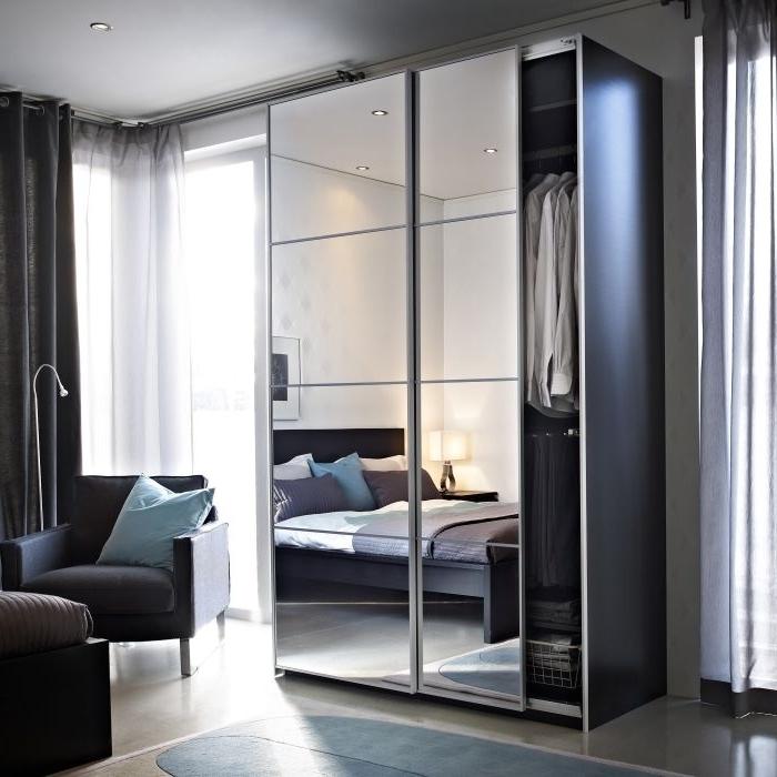 Best 25 Mirrored Wardrobe Ideas On Pinterest Mirrored Wardrobe most certainly regarding Dark Wood Wardrobes Ikea (Image 15 of 30)