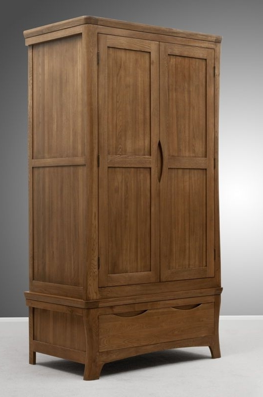 Best 25 Oak Wardrobe Ideas On Pinterest Wooden Wardrobe Closet good inside Double Rail Oak Wardrobes (Image 14 of 30)