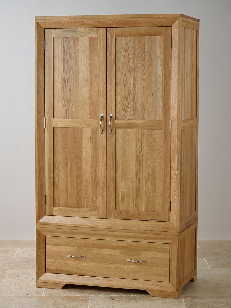 Best 25 Oak Wardrobe Ideas On Pinterest Wooden Wardrobe Closet perfectly pertaining to Double Rail Oak Wardrobes (Image 10 of 30)