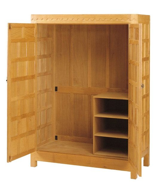 Best 25 Oak Wardrobe Ideas On Pinterest Wooden Wardrobe Closet very well inside Tall Double Hanging Rail Wardrobes (Image 19 of 30)