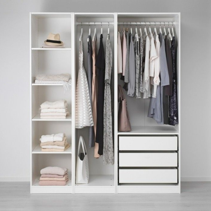 Best 25 Open Wardrobe Ideas On Pinterest Hanging Wardrobe well within Double Rail Wardrobes Ikea (Image 11 of 30)