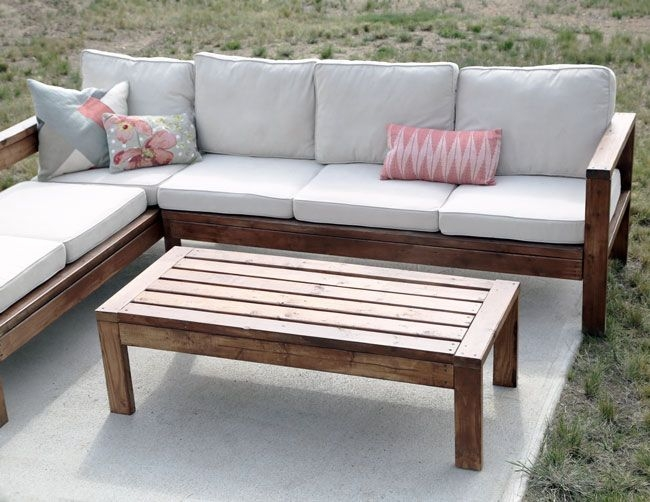 Best 25 Outdoor Furniture Ideas On Pinterest Diy Outdoor very well throughout Outdoor Sofa Chairs (Image 3 of 20)