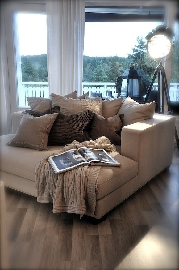 Best 25 Oversized Couch Ideas On Pinterest Small Lounge Properly With Regard To Oversized Sofa Pillows (View 7 of 20)
