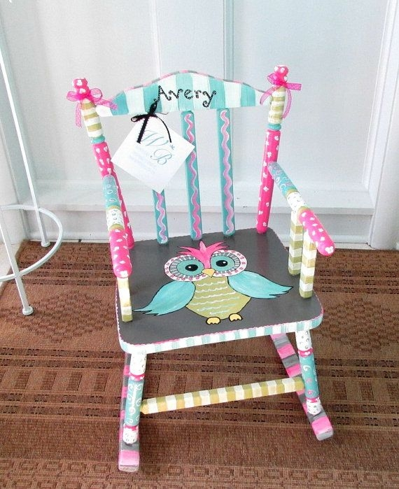 Best 25 Painted Childs Chair Ideas On Pinterest Painted Kids certainly inside Personalized Kids Chairs and Sofas (Image 7 of 20)