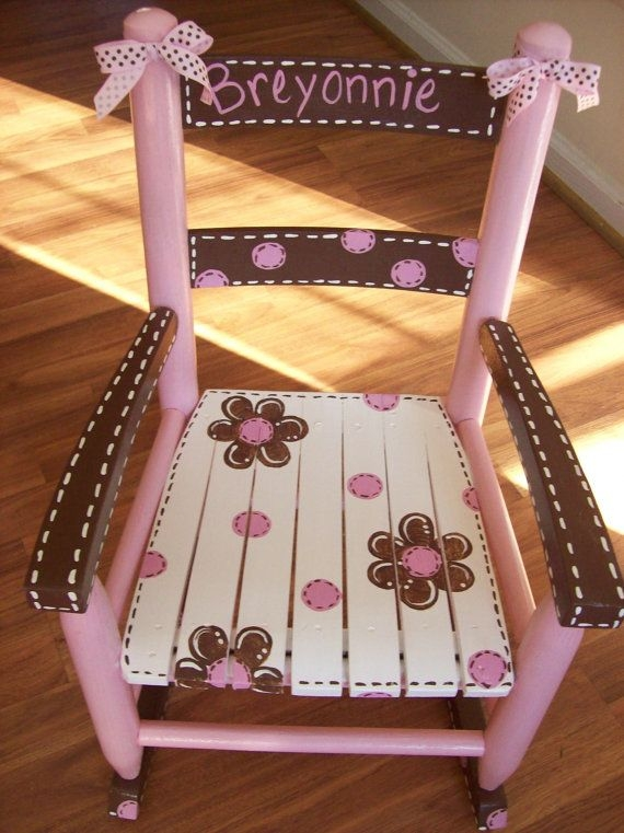Best 25 Painted Childs Chair Ideas On Pinterest Painted Kids clearly for Personalized Kids Chairs and Sofas (Image 8 of 20)