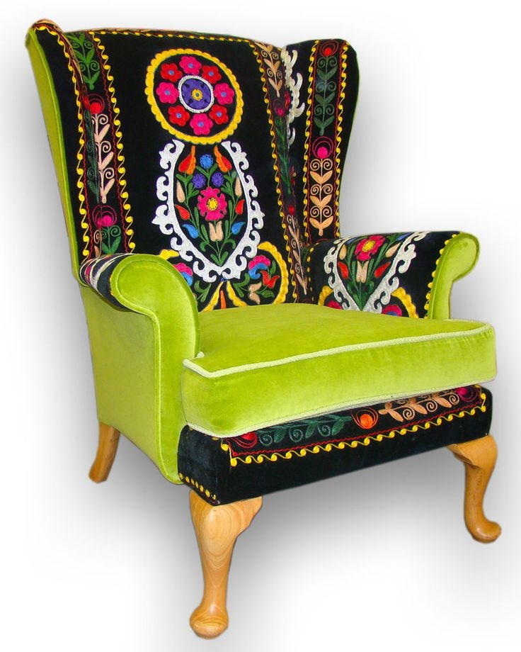 Best 25 Patchwork Chair Ideas On Pinterest Awesome Chairs well intended for Green Sofa Chairs (Image 9 of 20)