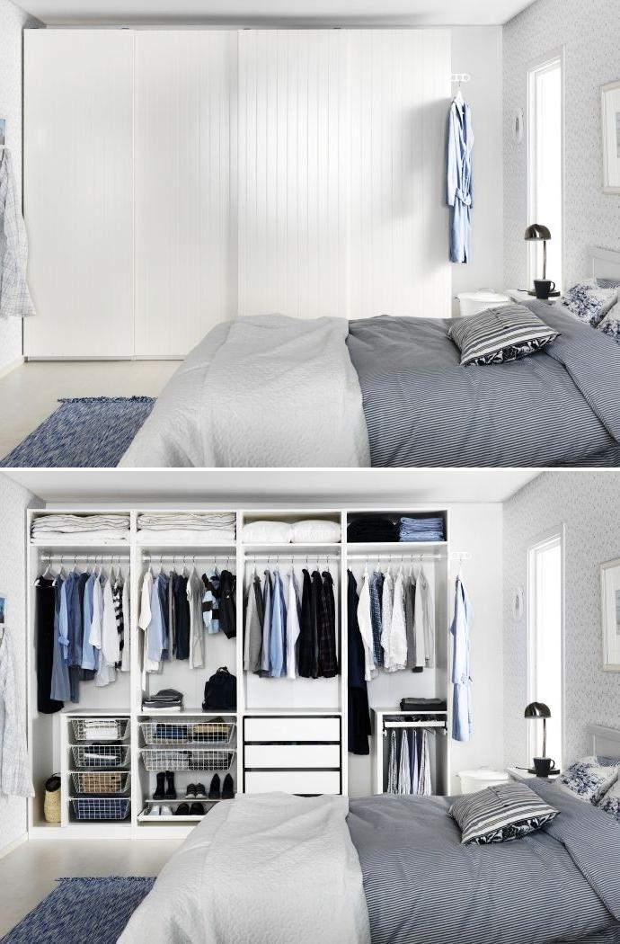 Best 25 Pax Wardrobe Ideas On Pinterest Ikea Pax Wardrobe Ikea very well within Dark Wood Wardrobes Ikea (Image 18 of 30)