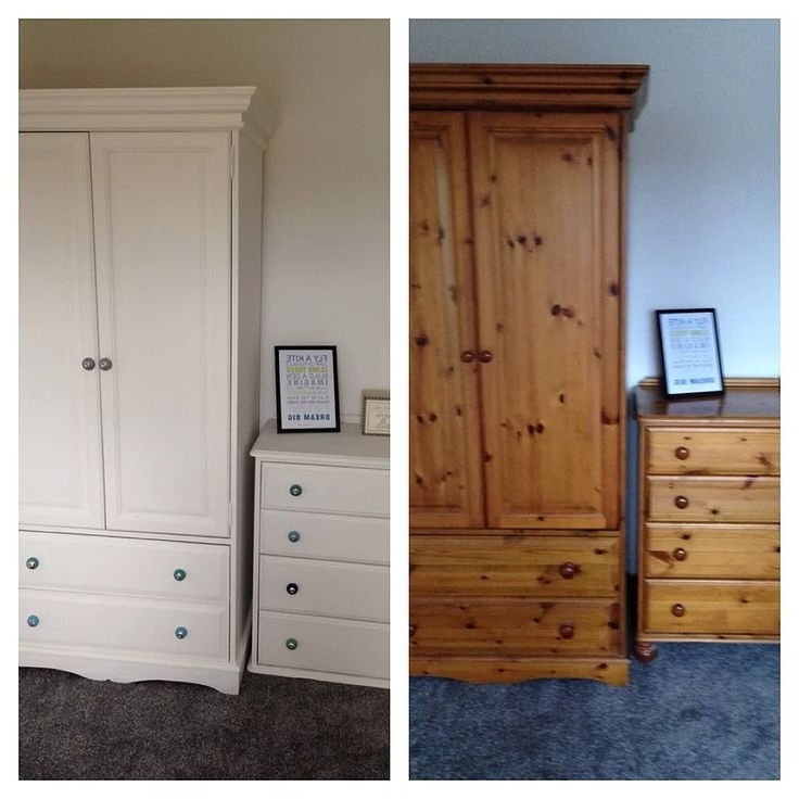 Best 25 Pine Wardrobe Ideas Only On Pinterest Painting Pine well in Pine Wardrobe With Drawers and Shelves (Image 4 of 30)