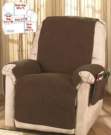 Best 25 Recliner Cover Ideas On Pinterest How To Reupholster nicely with Covers for Sofas and Chairs (Image 10 of 20)