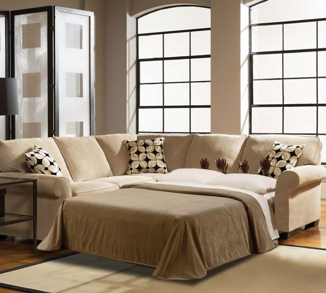 Best 25 Sleeper Couch Ideas On Pinterest My Spare Room Small well within 3 Piece Sectional Sleeper Sofa (Image 6 of 20)