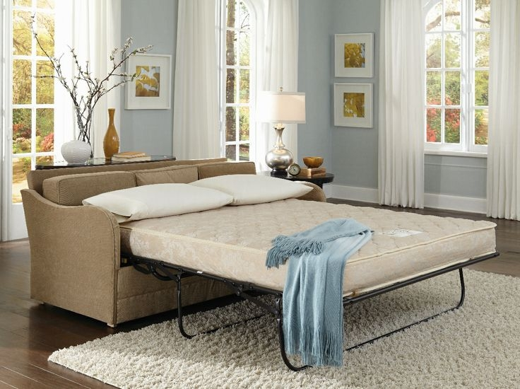 Best 25 Small Sleeper Sofa Ideas On Pinterest Spare Bed definitely with regard to Pull Out Queen Size Bed Sofas (Image 7 of 20)
