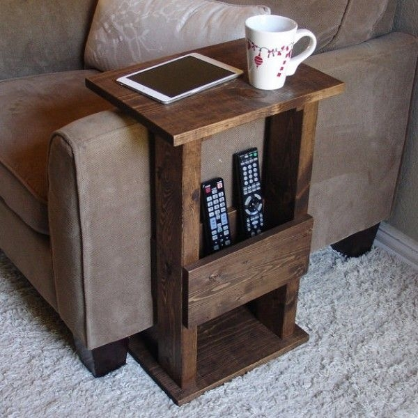 Best 25 Sofa Side Table Ideas That You Will Like On Pinterest well within Sofa Drink Tables (Image 10 of 20)