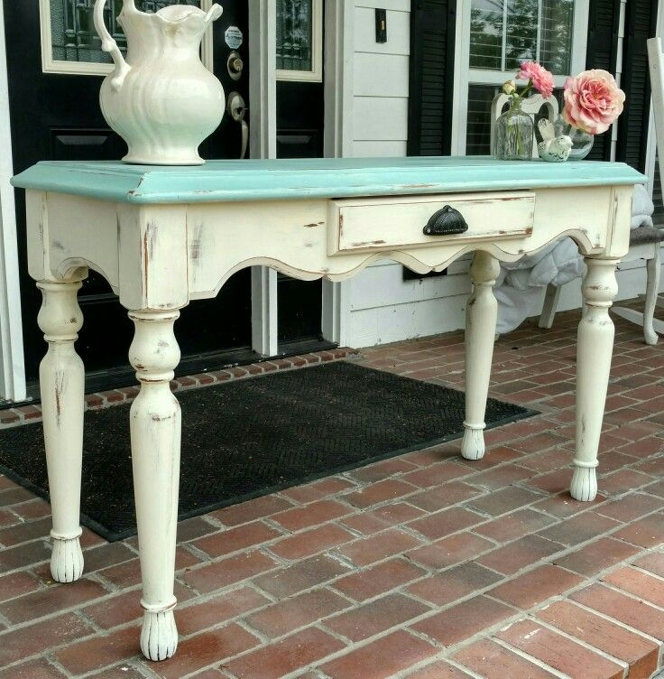 Best 25 Sofa Table Redo Ideas On Pinterest Farmhouse Table well with Sofa Table Chairs (Image 7 of 20)