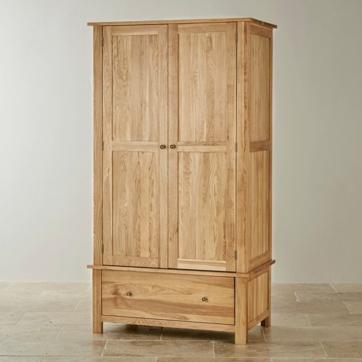 Best 25 Solid Oak Wardrobe Ideas On Pinterest Handmade Drawers well with Double Rail Oak Wardrobes (Image 15 of 30)